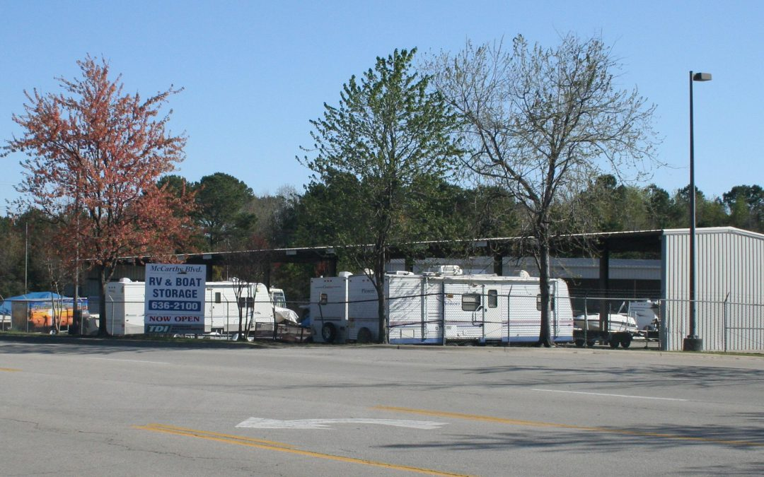 McCarthy RV & Boat Storage – Outside – New Bern, NC
